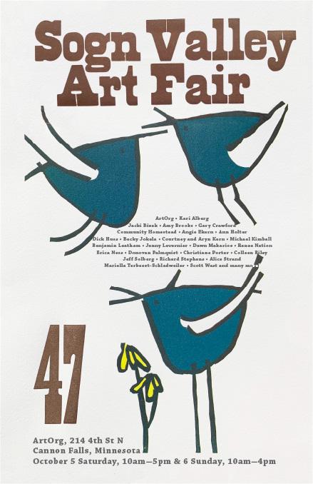 Sogn Valley Art Fair 47 poster